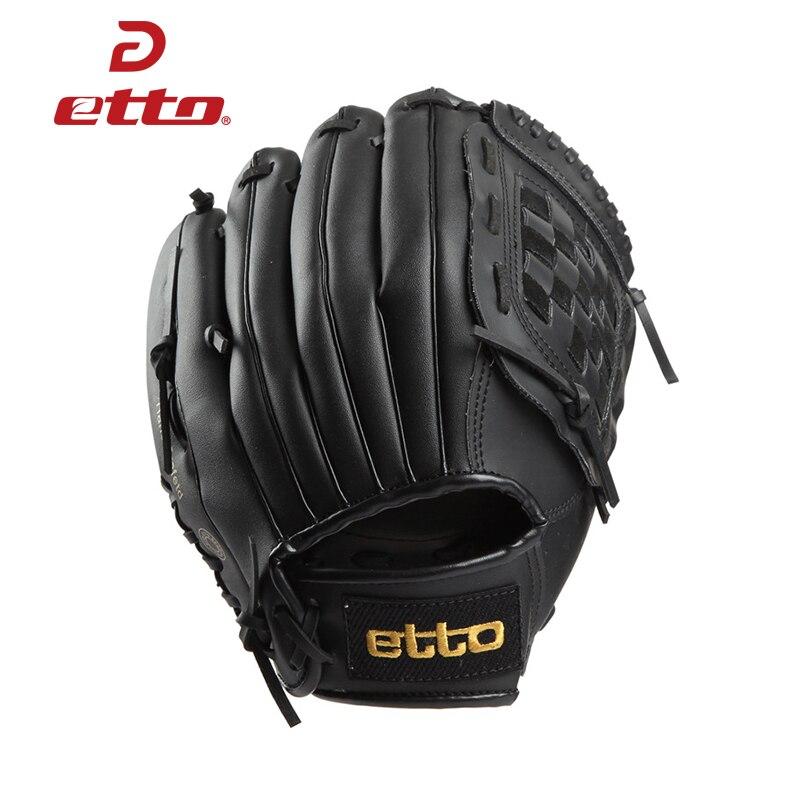 Etto High Quality Pu Leather Baseball Glove Left Hand 11.5/12.5 Inch Baseball Softball Training Gloves Guantes Beisbol HOB008Z<br>