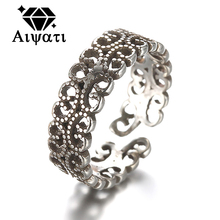 Occident Vintage Jewelry Thailand Silver Rings For Women