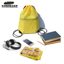 20L Women Men Waterproof Swimming Bag Gym Travel Shoes Pouch Shopping Backpack Zipper Drawstring String Outdoor Hiking Sport Bag