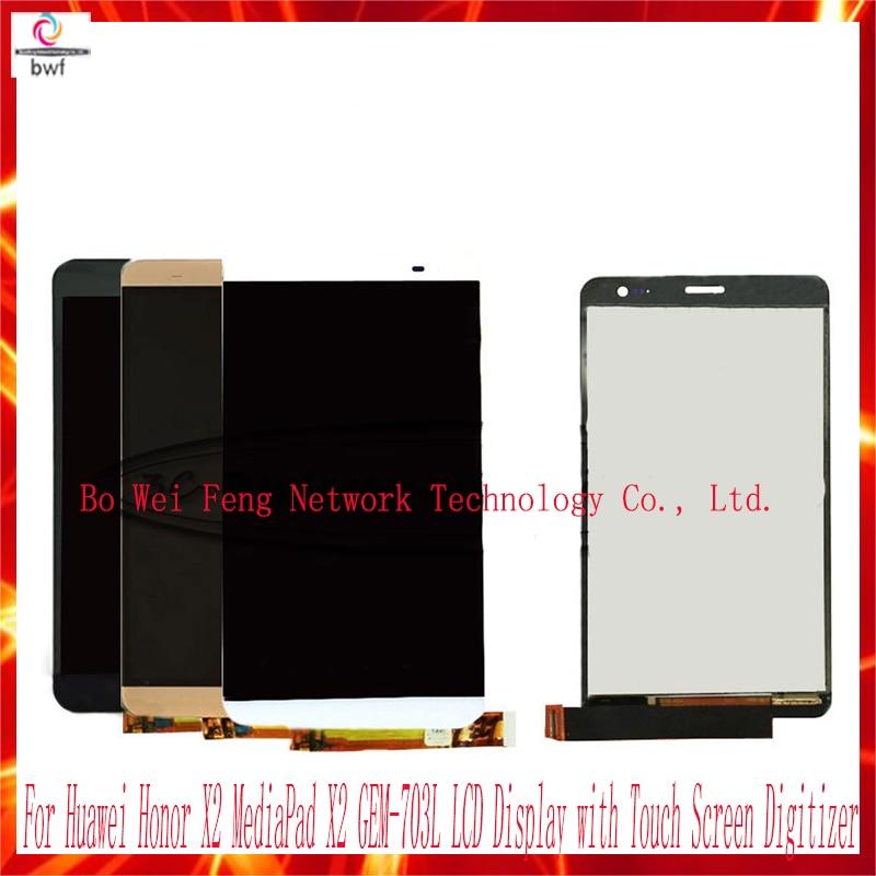 10Pcs High Quality For Huawei Honor X2 MediaPad X2 GEM-703L GEM-703LT GEM-702L LCD Display + Touch Screen Digitizer Smartphone<br><br>Aliexpress