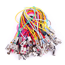 100pcs/lot Mobile Phone Strap Rope Charm Lanyard Straps for Keys Phones Decoration