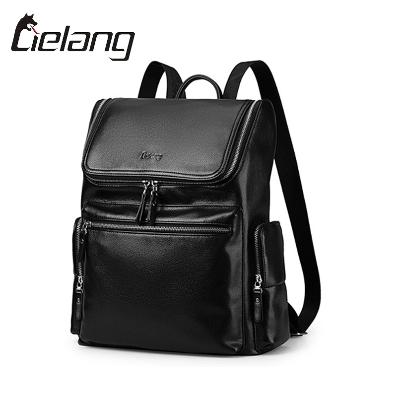 LIELANG Leather Backpack Men For 14 Inch Computer Laptop Bags Casual Fashion Schoolbags Male Travel Backpack Mochilas Travel Bag<br><br>Aliexpress