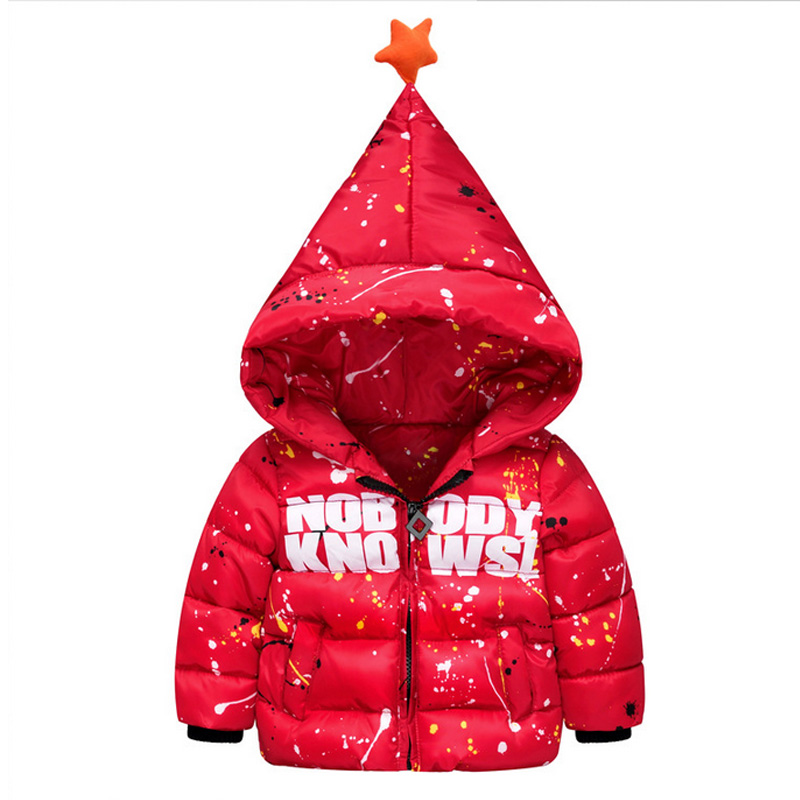 2016 High Quality New Children Letter Printed Feather Padded Wholesale Baby Boys Magic Cap Thick Winter Down Coat JacketОдежда и ак�е��уары<br><br><br>Aliexpress