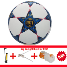 Hot sale Champions League Official size 5 Football ball Professional Match Training Soccer Ball PU soccer three free gift