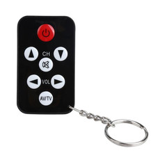 Brand New And High Qualit TV Mini Keychain Universal Remote Control for Philips Sony Panasonic Toshiba LO Free Shipping XFPA24