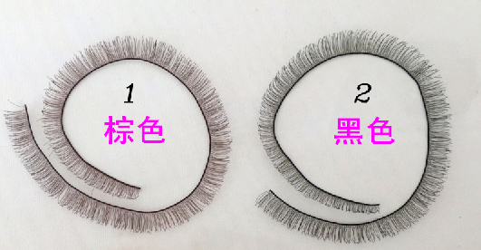 Baby Dolls Accessories 5pcs/lot  8mm width *20cm length eyelashes for 1/3 1/4 BJD doll For Reborn  Doll Baby Toy<br><br>Aliexpress