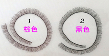 Baby Dolls Accessories 5pcs/lot 8mm width *20cm length eyelashes for 1/3 1/4 BJD doll For Reborn Doll Baby Toy(China)
