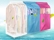Oxford Cloth Hanging Protector Wardrobe Storage Bag Garment Suit Coat Dust Cover(China)