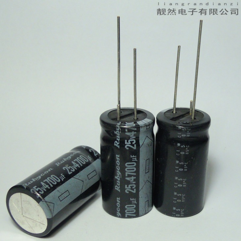 W Series 4700UF 25v 22x40 electrolytic capacitors<br><br>Aliexpress