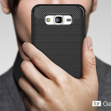 Buy Luxury Soft Fiber Carbon Silicone Cases Samsung Galaxy J5 Case 2015 Samsung Galaxy J5 Cover Case Coque Shockproof Armor for $2.79 in AliExpress store