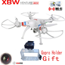 Syma X8W WiFi Real Time Video and syma x8c   2.4G 4ch 6 Axis Venture with 2MP Camera Big RC Quadcopter FPV