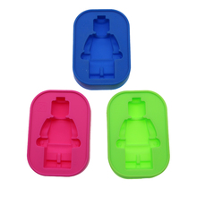 Food Grade Silicone Mold Super Big Robot Lego High Glucose Cake Decorative Mold Ice Mold DIY Bakery Tools