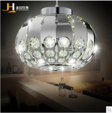 LED crystal chandelier modern minimalist restaurant entrance hallway lighting chandelier bar creative lamps