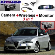 Liislee For Alfa Romeo 147 AR WiFi Rear View Camera + Wireless Receiver + 3 in1 Special Mirror Monitor Easy DIY Parking System(China)