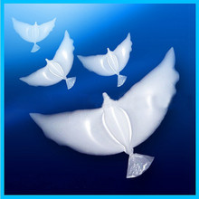 10 pieces Helium bird of peace Wedding Balloons Flying White dove Foil Inflatable Air Balloon Wedding Party Decorations supplies