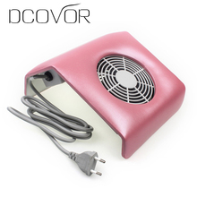 220V Nail Art Salon Suction Dust Collector Manicure Filing Acrylic UV Gel Tip Machine Vacuum Cleaner Salon Tool EU Plug(China)