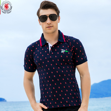 2016 New Brand Men Polo Shirt Mens Solid Polo homme Casual Short sleeve Tops for Man Full Print 100% Cotton Plus Size 014