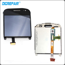 Black LCD For blackberry Bold 9900 002 version LCD Display touch screen with digitizer Assembly Replacement Parts(China)