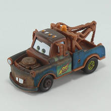 Disney Pixar Cars Tow Mater 1:55 Diecast Brand Metal Alloy Toys Birthday Christmas Gift For Kids Car Toys Brinquedos(China)