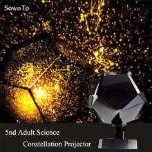 Constellation Projector Star Astro Sky Cosmos Night Light Projector Lamp LED DIY Starry Light Romantic Home Decor Christmas Gift(China)