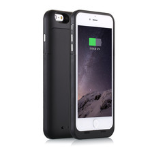 New 6 PLUS 6S PLUS Extended Battery Case [6800mah] For iPhone 6 Plus 6S Plus 5.5 inch Battery Case Battery Backup Charger(China)