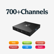 New IPTV Box Android 6.0 & 626 Arabic Europe Sport News Travel IPTV Hot Channels and Powerful S905X Strong Wifi Signal Tv Box