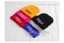2016 Fashion SSUR COMME DES FUCKDOWN Hats Knitting Hip-hop Style Men and Women Beanies Caps Winter Head Accessories