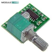 2 шт. супер мини PAM8403 DC 5 В 2 канала USB цифровой Аудио Усилители домашние совета Модуль 23 Вт Объем Управление с potentionmeter переключатель(China)
