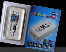 DC12-24V WIFI Led controller for 5050 3528 2835 RGB led strip led module,single color version and rgb version.(China)