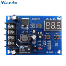 XH-M603 Charging Control Module 12-24V Storage Lithium Battery Charger Control Switch Protection Board With LED Display(China)