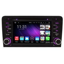 WIFI RDS FM Quad core Android 5.1.1 1024*600 7inch Car DVD PC Player Radio Audio Stereo Screen GPS For Audi A3 S3 RS3 2003-2013(China)