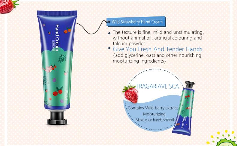Whitening Rejuvenation Hand Cream Moisturizing Nourishing Repair Anti Aging Anti Chapping Hand Care Beauty 5pcs Set 12