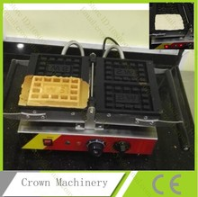 110V 220V Reversible Stainless Steel Electric Big Grid Shape waffle cake oven; Waffle Maker;waffle machine