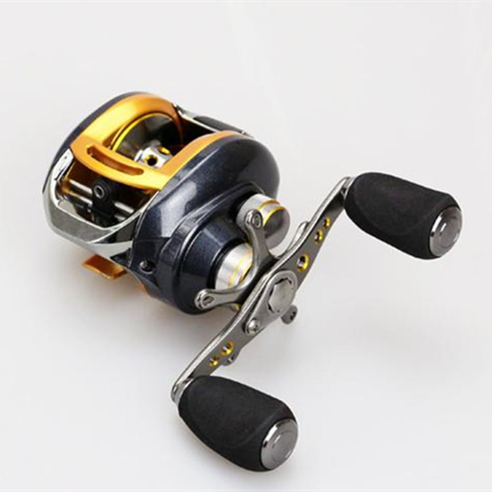 12+1 Ball Bearings Right/Left Hand Baitcasting Reel Fishing Fly High Speed Fishing Reel with Magnetic Brake System<br>