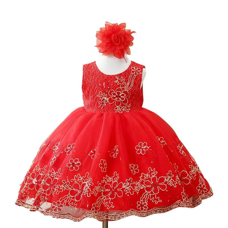 High-grade baby girl princess dress children Bridesmaid dresses  birthday party dress of Girls Kids dress <br><br>Aliexpress