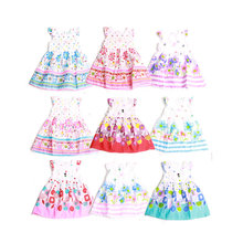 Buy Girls Dresses Summer 2018 Cute Floral Sleeveless Kids Princess Dress Girl Enfant robe fille Baby Girl Clothes Children Clothing for $4.00 in AliExpress store