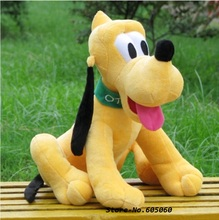40cm Kawaii Goofy Dog Pluto Plush Doll Toy Mickey Mouse Minnie Donald Duck Friend Stuffed Toys Kids Gift(China)