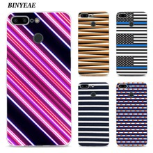 BINYEAE Beautiful parallel lines Style Silicone TPU Ultra Thin Clear Soft Case for Oneplus 5T Cover Coque(China)