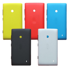 Housing Back Battery Cover for Nokia Lumia 520 Case Capa Funda Hard Shell Skin Replacement+Side Buttons For Lumia 520 N520