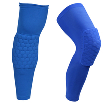 A Pair Colorful Basketball knee pads Football brace support Leg Sleeve knee Protector Compression knee Protection Sport Safety