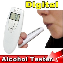 Hot Sell Professional LCD Alcohol Tester Portable Police Digital Alcohol Detector Breathalyzer Breath Analyzer alcohol Tester