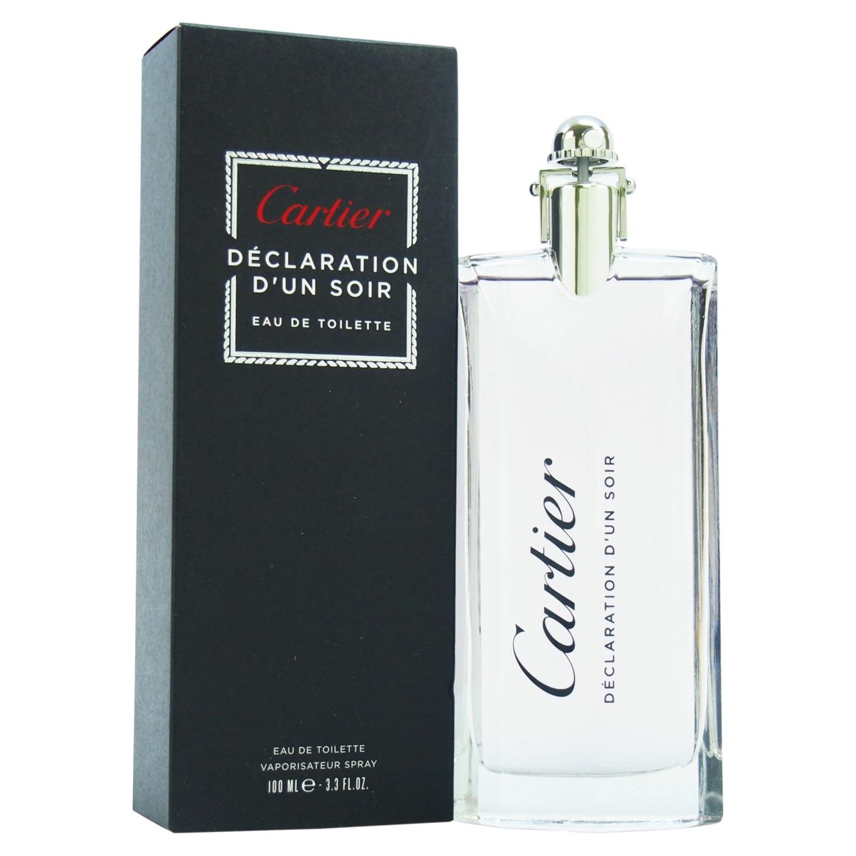 Declaration Dun Soir by Cartier for Men - 3.3 oz EDT Spray