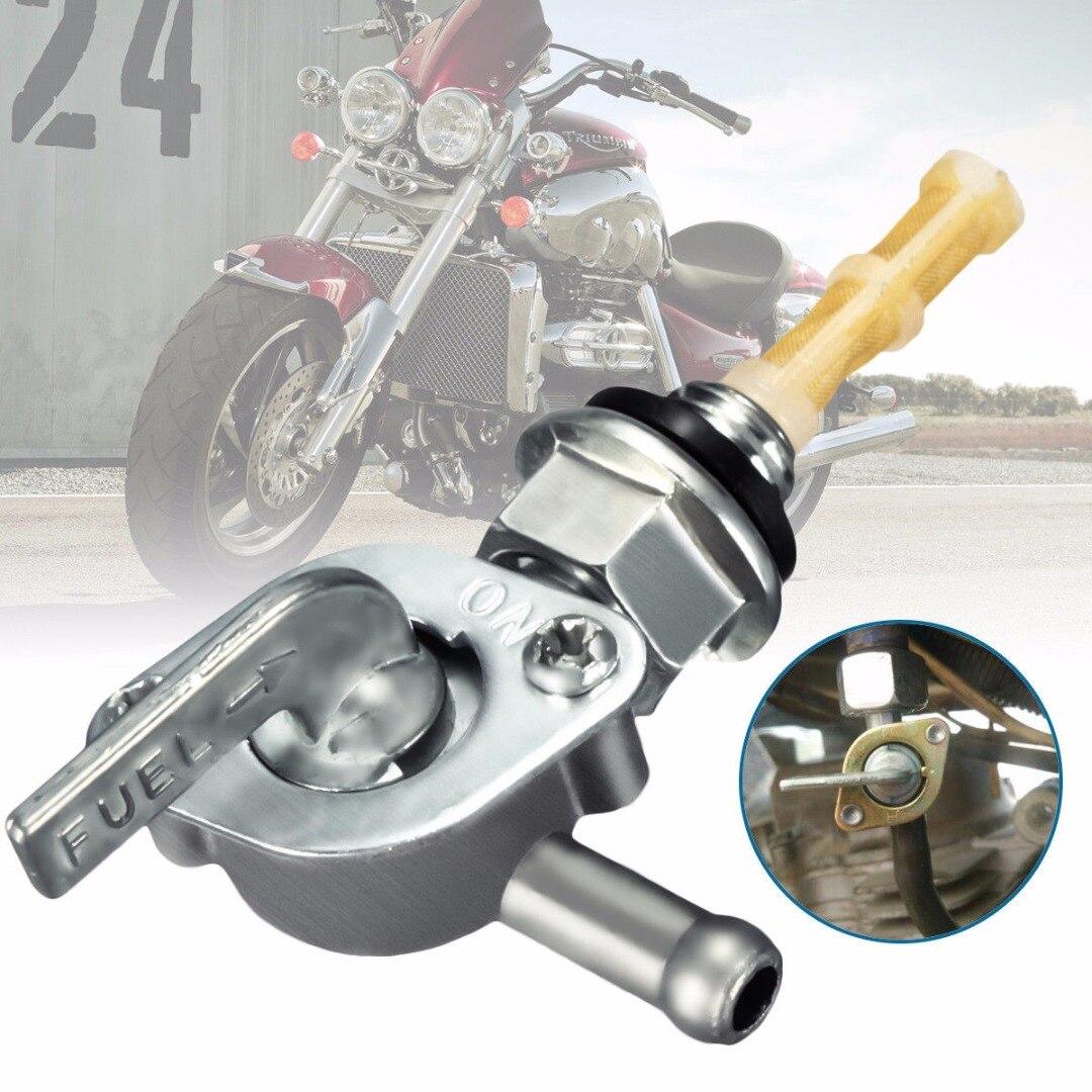 JX-LCLYL 10mm Fuel Petrol Tank Tap Petcock Switch Generator Pit Dirt Bike ATV Quad