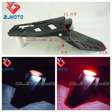 Free Shipping Dirt Bike Rear Lamp Motorcycle Rear Fender LED Stop Tail Plate light lamp Tail Light Brake Light For BMW G450X(China)