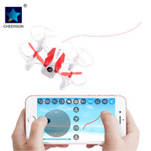 New Listing Cheerson CX-17 CX17 Mini RC Helicopter 2.4G With WiFi FPV With Wide Angle Camera Fixed high suspension Quadcopter