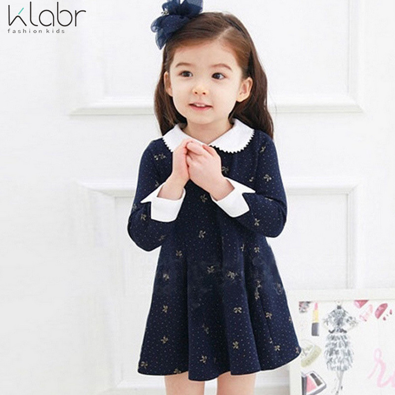 Kids Dresses For Girls Time-limited Full Floral Ball Gown Linen Girls Dress 2016 New Autumn Cotton Children S Princess Dresses <br><br>Aliexpress