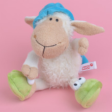 25-75cm Sleeping Cap Sheep Stuffed Plush Toy for Cute Baby/ Kids Gift, Lamb Plush Doll Free Shipping