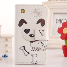 ABCTen Protection Accessories Case For Xiaomi Mi4 PU Leather Cell Phone Cover Flip Painting Skin Book Design