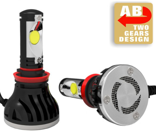 YY 48W 4400Lm 5000K H4 H8 H7 Car LED headlight CREECXA 1512 h9 H11 bulb Lamp Auto Led Headlamp Light for all cars<br>