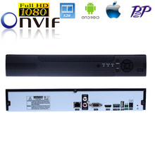16CH 960P/8CH 1080P/4CH 3M Video Input H.264 ONVIF2.0 Network VGA Motion Detect  Playback Real Time 16 Channel CCTV NVR